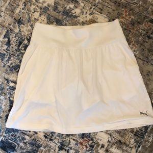 Puma white golf tennis skirt